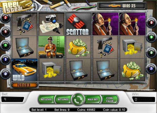 Reel Steal Slots - Play Reel Steal Slots Free Online.