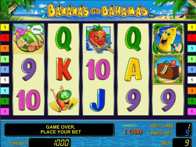 Bananas Go Bahamas™ Slot Machine Game to Play Free in Novomatics Online Casinos