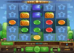 free reel rush slot online