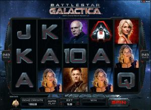Free battlestar galactica slot