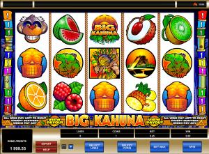 Big kahuna free slot online