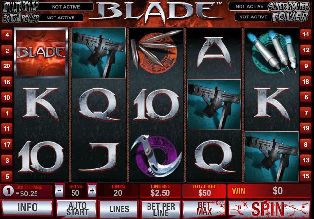 Free Slot Blade