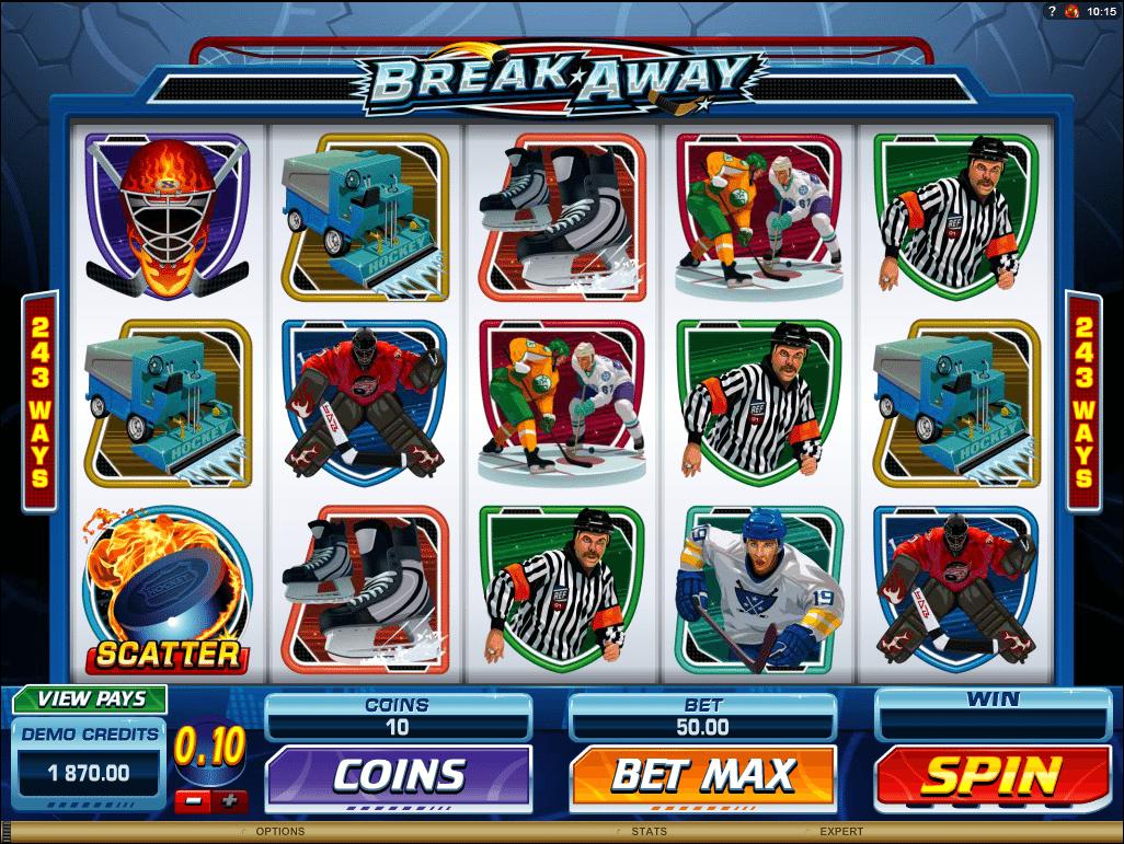 Free breakaway slots