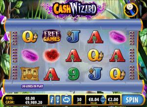 free slot cash wizard online