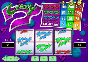 free crazy 7 online slot