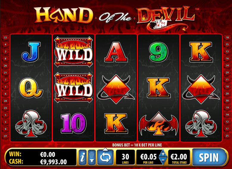 Hand Of The Devil Slot Machine
