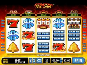 free slot hot shot online