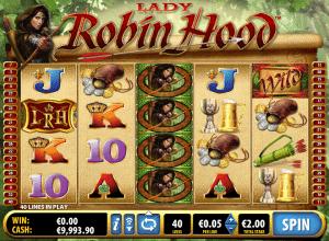lady robin hood online slot for free