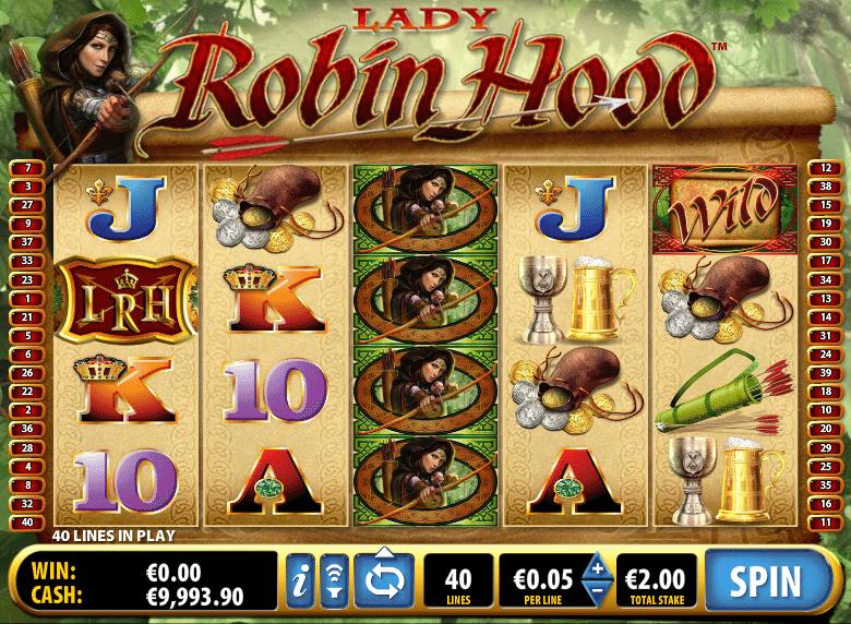 Lady Robin Hood Slots - Free Play - Play on Desktop / Mobile
