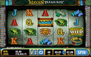 free mayan treasures online slot machine