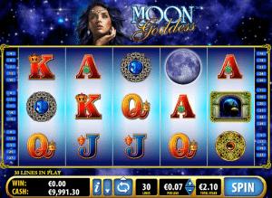 Free Moon Goddess Online Slot Machine