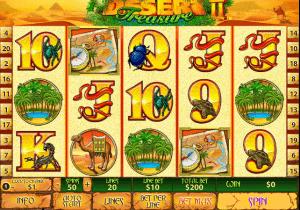 Desert Treasure Free Online Slot to play