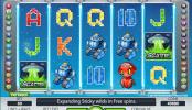 free slot alien robots online