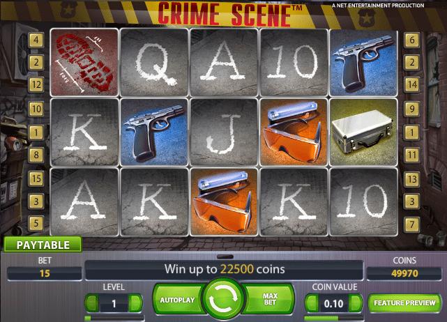 Crime Scene Slots - Spela Crime Scene slots Gratis Online