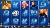 Fantastic four 50-lines free slot machine