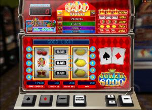 free slot joker 8000