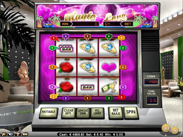 magic love free slot