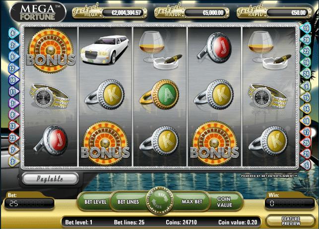 novomatic online casino mega fortune