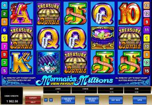 free online slot mermaids millions