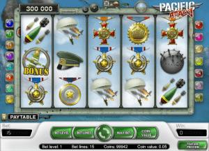 free pacific attack slot