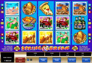 spring break free slot machine game