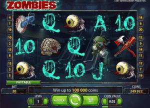 Free Zombies slot