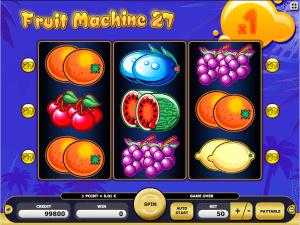 Fruit Machine 27 Free Slot Machine