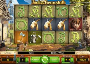 Jack and the Beanstalk Free Slot Machine