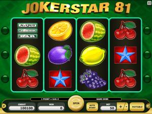 JokerStar 81 Free Slot