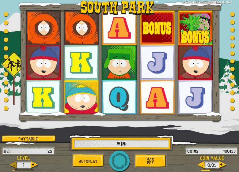 South park slot machine online