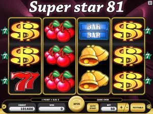 SuperStar 81 Free Slot Machine