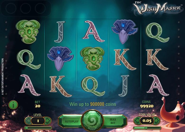 The Wish Master Slots Machine - Free Online Video Slot Game