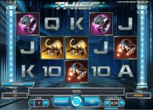 Thief Free Slot
