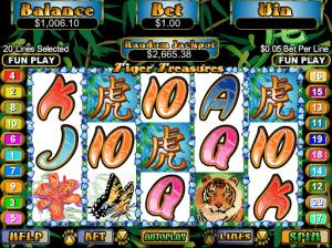 Tiger Treasures Free Slot Machine