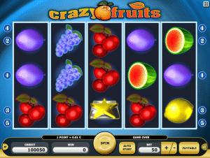 Crazy Fruits Free Slot