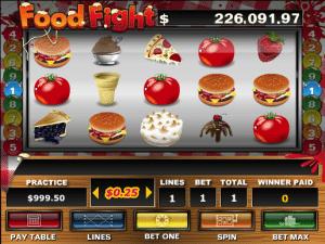 Free Food Fight Slot Machine