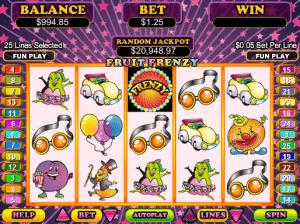 Fruit Frenzy Free Slot