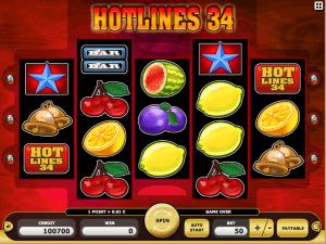 Hotlines 34 Free Slot Machine