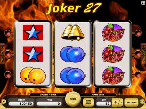 Joker 27 Free Slot Machine