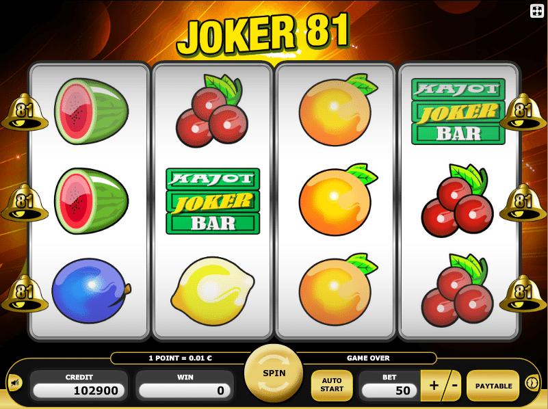 free online slots play for fun joker online
