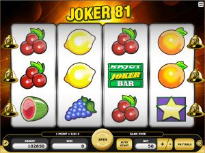 Joker 81 Free Slot Machine