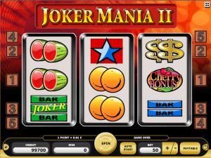 Joker Mania II Free Slot