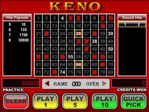 Free Videopoker Keno