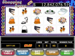 Shopping Spree Free Slot Machine