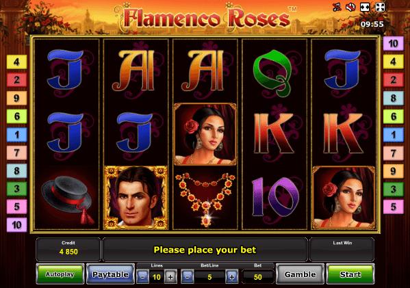 Flamenco Roses™ Slot Machine Game to Play Free in Novomatics Online Casinos