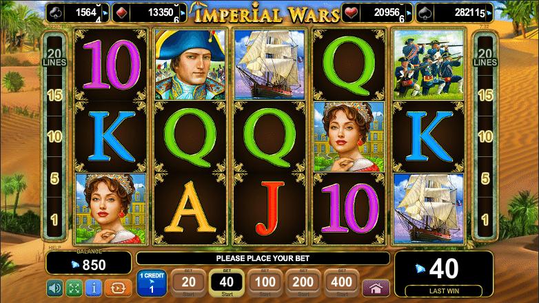 Imperial Wars Slot Machine Online ᐈ EGT™ Casino Slots