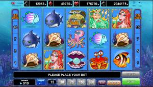 Free Ocean Rush Slot Machine