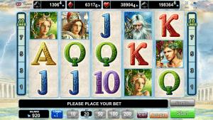 Olympus Glory Free Slot Machine