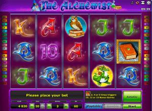 Free Slot The Alchimist Machine