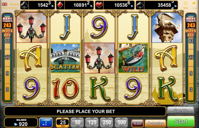 Venezia dOro Slot Machine - Free to Play Online Casino Game